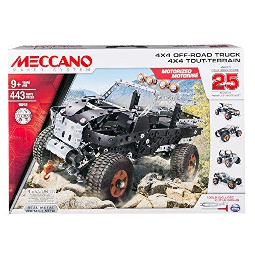 Meccano set 25 modelos vehículos todoterreno modelos 4x4 6028599 hechos de metal