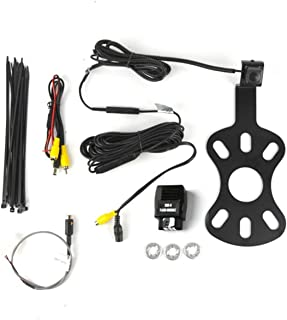 Brandmotion 9002-8817 Rear Vision Camera and Fixed Bracket for 2007-2018 Jeep Wrangler JK with Factory Display photo