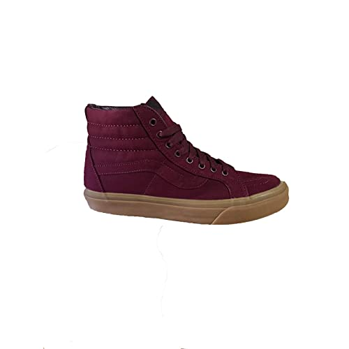 343efe9aa1 Vans Unisex Adults  Sk8-hi Reissue Leather Trainers