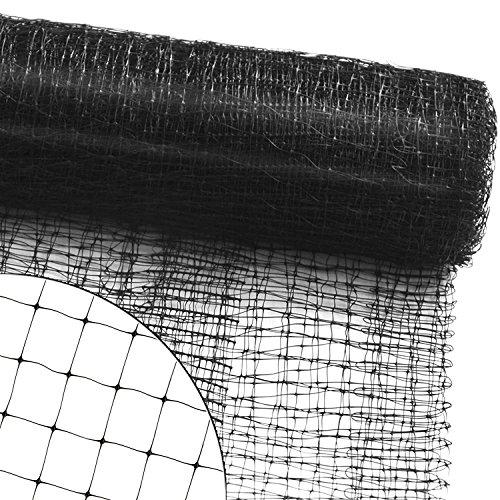 casa pura Filet de Protection Filet Anti Oiseau, Pigeon | volaille | Jardin, Arbre fruiter, Balcon, Bassin, etc. | Maillage 13mm - 10m (L) x 4m (H)