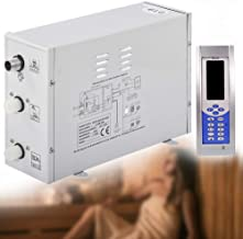 YJINGRUI Stoomgenerator Sauna Badkamer Stoomgenerator voor Home SPA met digitale controller Temperatuur en timing (220V 3KW)