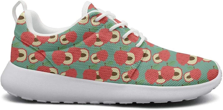Ipdterty Wear-Resistant Sports Sneaker Cute Lychee Fruit Pattern Woman Comfortable Track Running shoes
