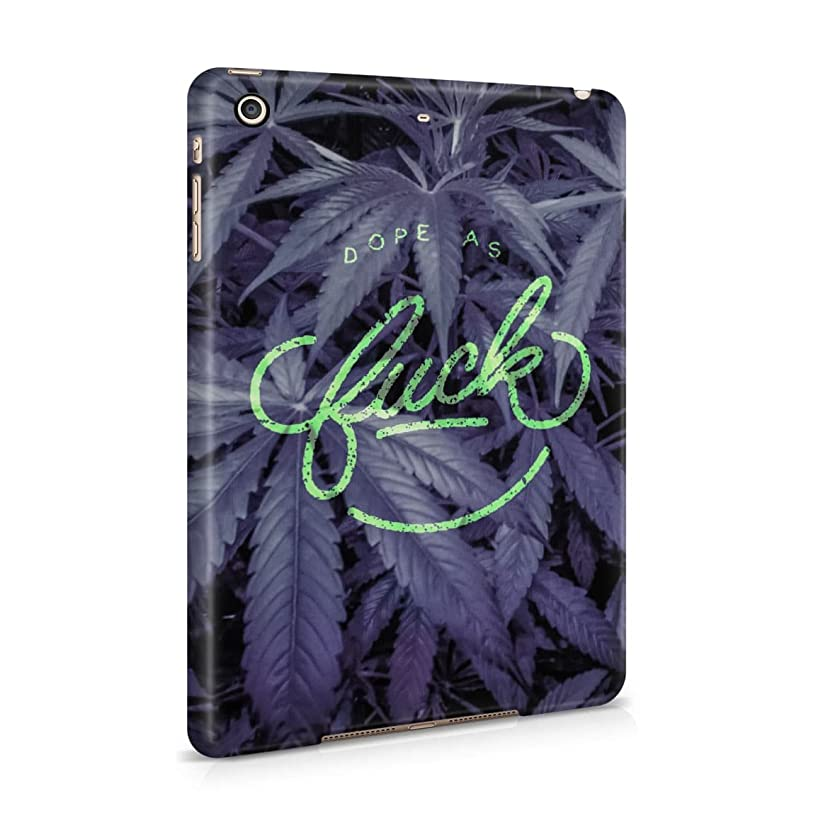 Dope As Fuck Cannabis Leaves Hard Plastic Tablet Case For iPad Mini 2 & 3