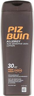Piz Buin Allergy Sensitive Skin Sun Lotion SPF 30, Hydraterende Zonnecrème voor Gevoelige Huid, 200 ml