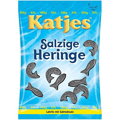 Katjes Salzige Heringe 500g