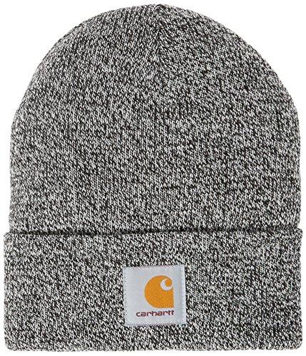 Carhartt Scott Watch Hat muts zwart (Black/Wax), eenheidsmaat voor volwassenen