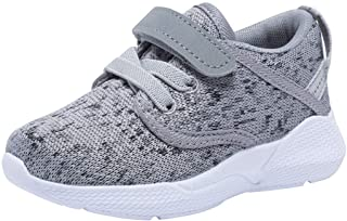COODO Toddler Kid`s Sneakers Boys Girls Cute Casual Running Shoes