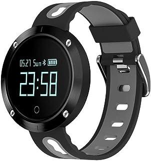 JSGJSH 2018 New Smart Bracelet DM58 Bluetooth 4.0 Smart Bracelet Blood Pressure Heart Rate Monitor IP68 Waterproof Call Reminder Activity Tracker Smart Band