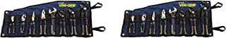 Irwin Tools VISE-GRIP GrooveLock Pliers Set, 8 Piece, 2078712 (Pack of 2)
