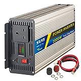 SUG 2000W (Peak 4000W) Pure Sine Wave Inverter DC 12V to AC 230V