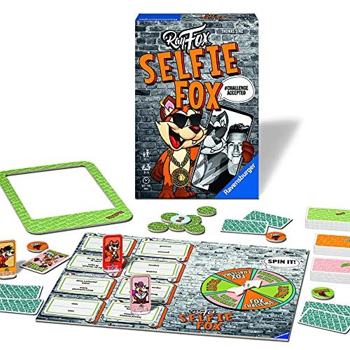 Ravensburger Familienspiel 27048 - SELFIE FOX - Partyspiel für 3-6 Spieler ab 10 Jahren