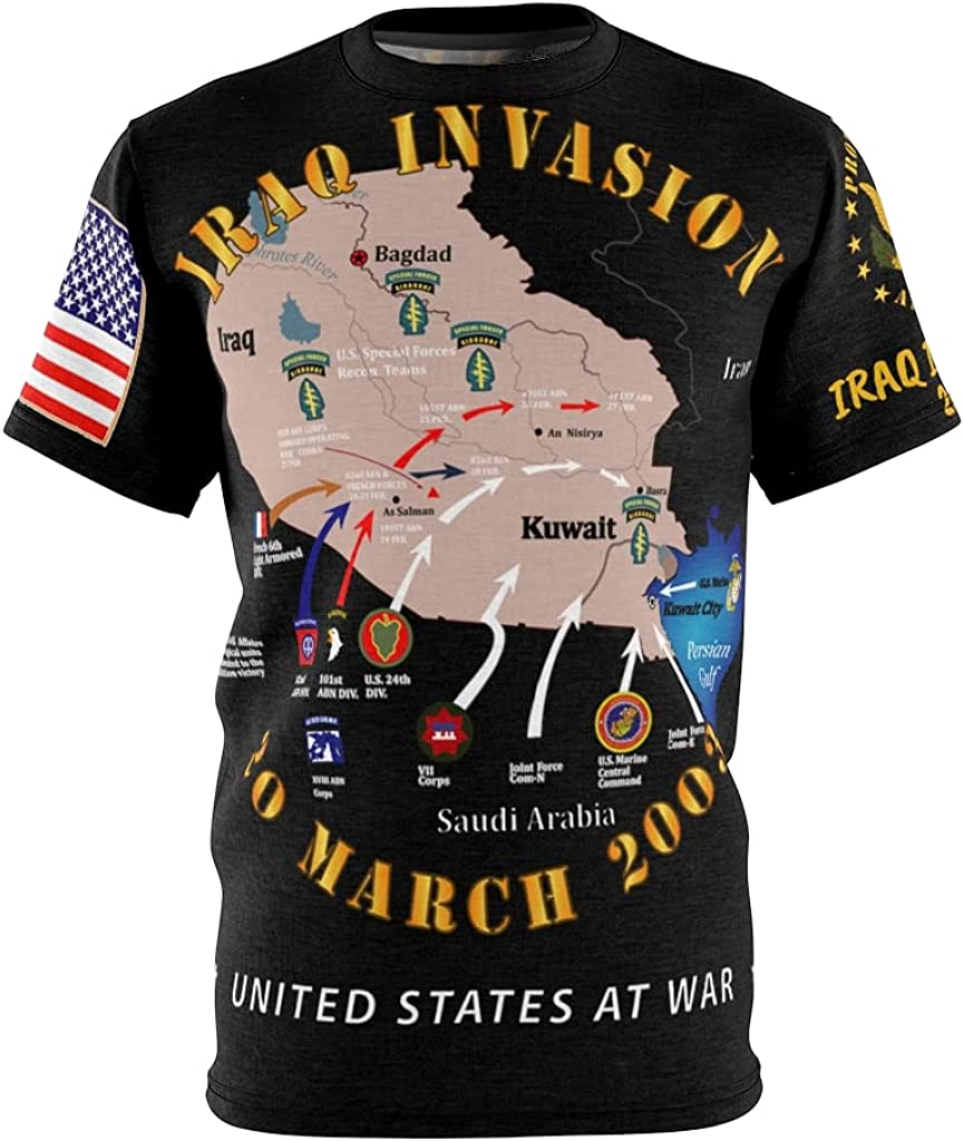 All Over Printing - Army 2003 2021 spring and summer new Iraq wholesale Iraqi Invasion Operation