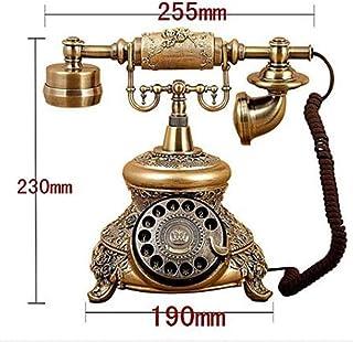 レトロ電話ヴィンテージホーム固定電話、ロータリーダイヤル電話、オフィス固定電話ホーム電話