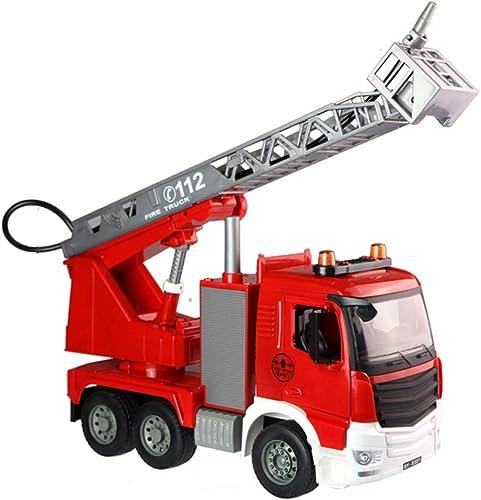 barato en alta calidad FDHLTR Coche de Juguete, Juguete para para para Niños, vehículo de construcción, camión de Bomberos, Modelo de Auto Manual, Juguete, colección de Regaños Modelo de Auto  precios bajos todos los dias