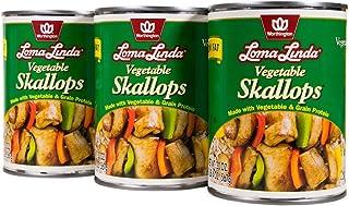 Loma Linda - Plant-Based - Vegetable Skallops (20 oz.) (Pack of 3) - Kosher