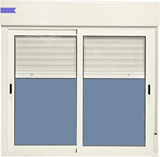comprar comparacion Ventana Aluminio Corredera Con Persiana PVC 1200 ancho × 1155 alto 2 hojas