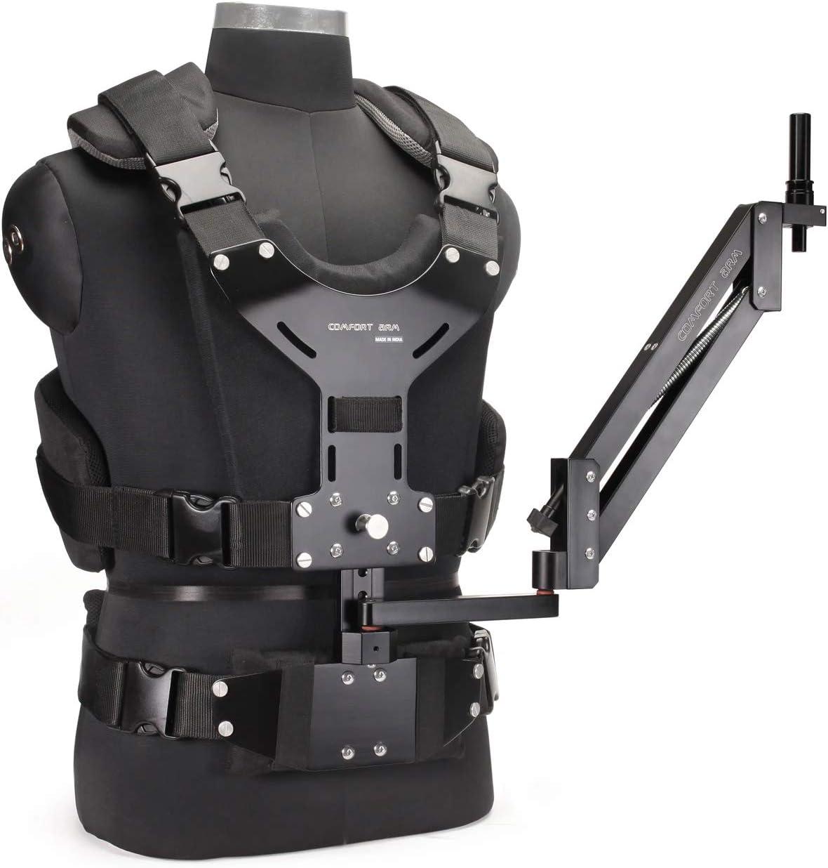 FLYCAM Confort brazo y chaleco de para Flycam 5000/3000/DSLR Nano Handheld Video Steadycam Estabilizador de cámara de hasta 5kg  (cmft-av)