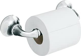 KOHLER K-11374-CP Forté Toilet Tissue Holder, Polished Chrome