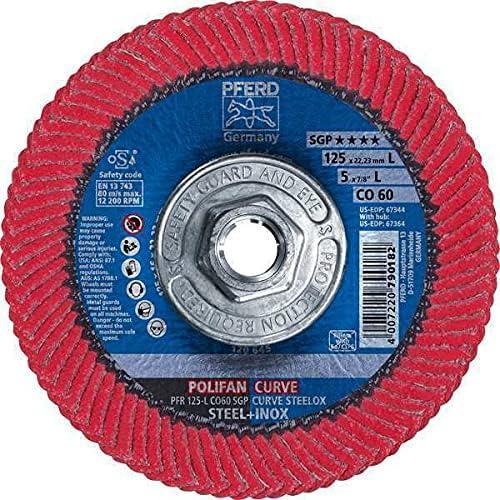 Pferd Flap Disc 5X5 8-11 Cash special price Ceramic Pack 5 Tucson Mall L 60 of