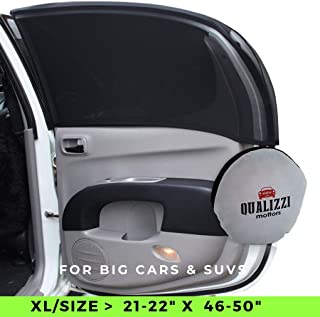 XL/Car Windows Sun Shades for SUVs Windows up to 21-22in x 46-50in – Mesh Shade..