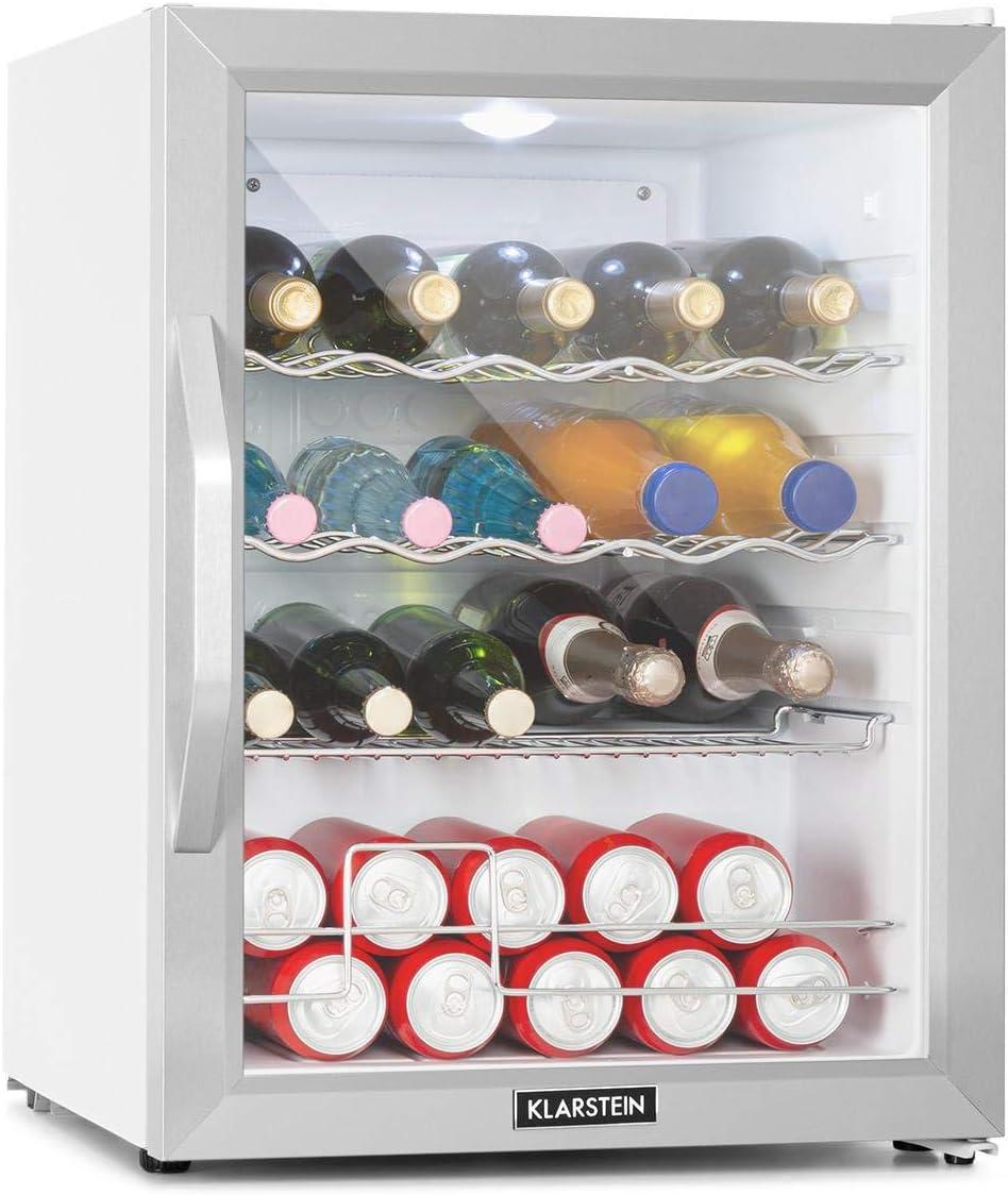 Mini frigorífico con congelador Klarstein