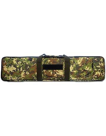 Color : Khaki, Size : 85cm Custodie per Carabine con 4 Tasche Esterne per Conservare Armi da Collezione Eortzzpc Zaino Custodia per Borsa per Fucile Doppio