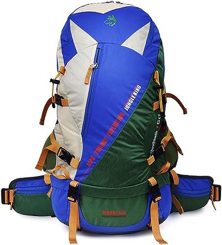 50L Grand Sac à Dos Professionnel Sac à Dos Voyage en Plein Air Alpinisme Escalade Sac à Dos De Camping, Adapté pour Homme Et Femme.