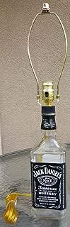 Jack Daniels Bottle Lamp 1.75L with Harp