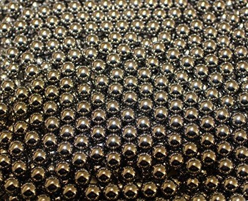 G8DS 500 Stück Marken-Schleudermunition Kaliber 10 mm Stahlkugeln Schleuder Munition für Katapult