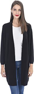 Best black long cashmere cardigan Reviews