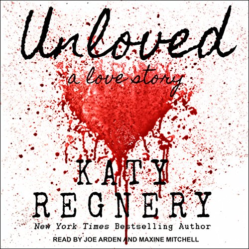 Unloved, a love story audiobook cover art