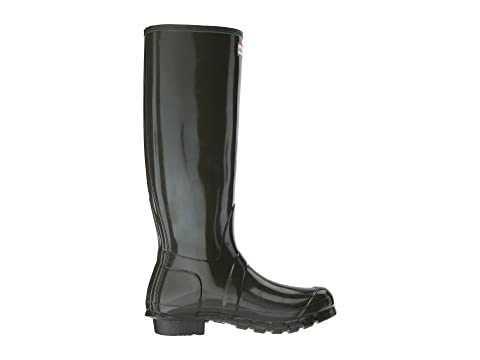 Hunter Original Tall Gloss Rain Boots Dark Olive Official Site Sale Online Visit Online bZyqmAEn