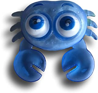 Warehouse 151 Squishy Stretchy Squeeze Stress Office Desk Toy (Crab, Blue)