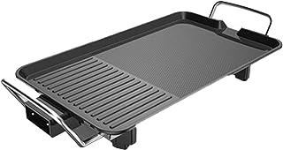 HAZYJT Grilles à raclette Fours électriques ménagers Machine de Barbecue antiadhésive sans fumée Plaque de Cuisson électri...