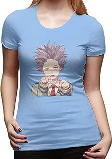 UXUEYING My Hero Academia Boku No Hero Shinso Hitoshi T-Shirt Blouses Women Short Sleeve Tops