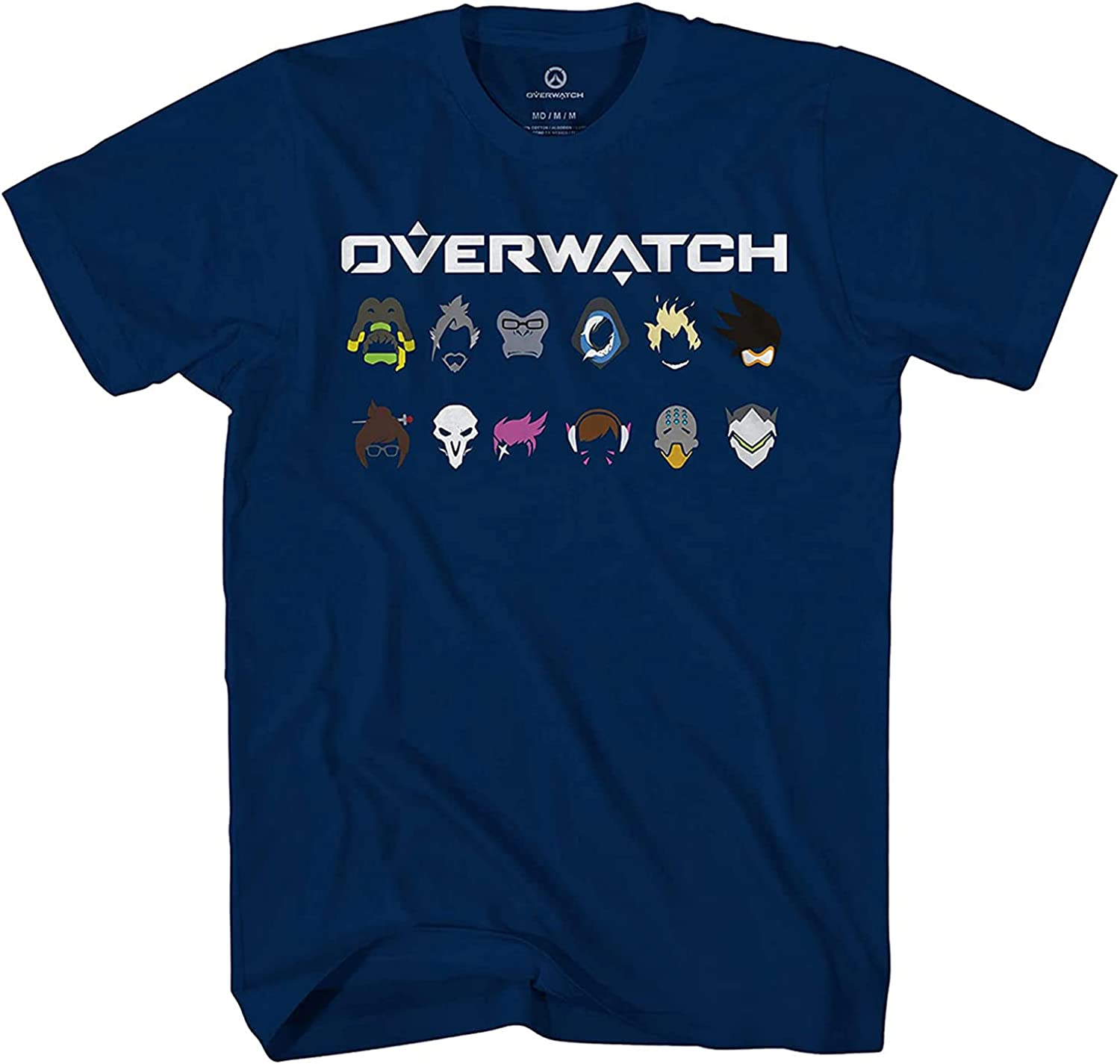 6. Overwatch Men's Video Game Official T-Shirt - The World Needs Heroes