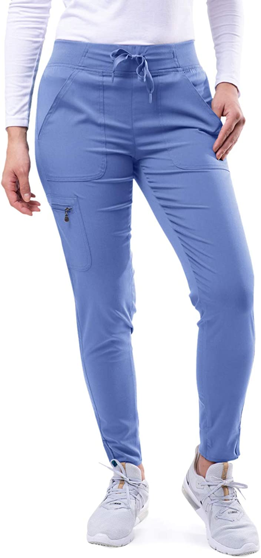 Adar Pro Scrubs for Women - 35% OFF Portland Mall Yoga Ultimate Scrub Pants Jogger