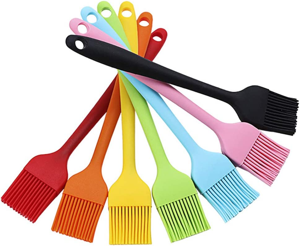 Set of 7 Basting Brushes New products, world's highest quality popular! Silicone Resistant Clearance SALE Limited time BPA Pastr Free Heat