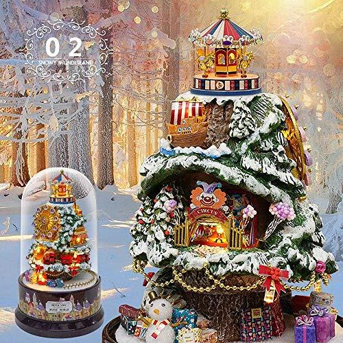 Taoke DIY Haus Miniatur-Puppenhaus DIY Handwerk Kit Möbel Holzhaus Romantic House Multicolor Optional Puppenhaus Miniatur (Farbe: 5, Größe: One Size) 8bayfa (Color : 2, Size : One Size)