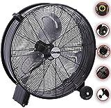 DMS® ITV-60 Industrie Ventilator Trommelventilator Windmaschine