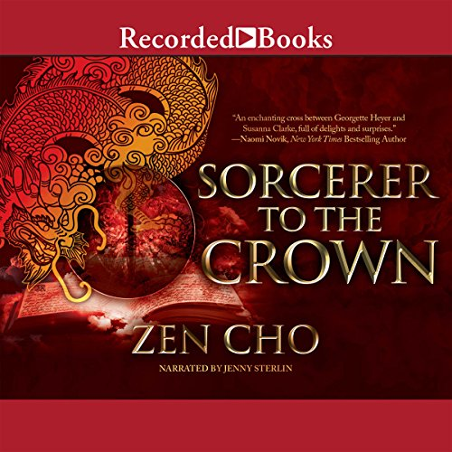 Sorcerer to the Crown audiobook cover art