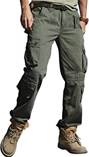 VAVE Men's Cargo Pants Tactical Combat Relaxed Fit Work Military Army Trousers