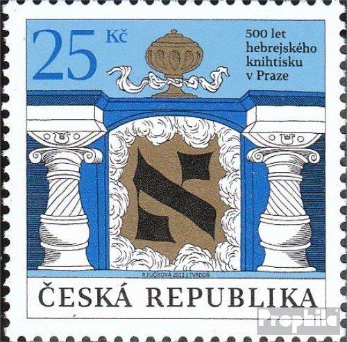 république tchèque mer.-no.: 716 (complète.Edition.) 2012 Livre (Timbres pour Les collectionneurs)