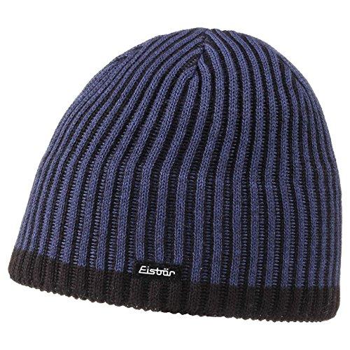 Bonnet en Tricot Alex Eisbär bonnet en tricot bonnet pour l´hiver (taille unique - bleu)