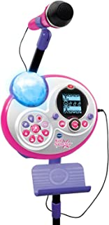 VTech Kidi Super Star Karaoke System with Mic Stand Amazon Exclusive (Renewed)