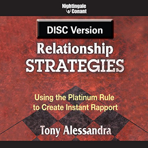 Relationship Strategies audiobook cover art