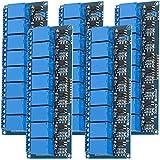 AZDelivery 5 x 8 canali modulo Relay 5V con optoaccoppiatore Low-Level-Trigger compatibile...