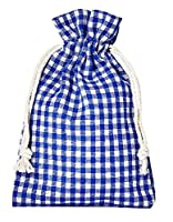 Petits sacs en coton de style campagnard Ce petit sac en coton est idéal pour l'emballage de petits présents, pour Noël, le calendrier de l´Avent, la fête de la bière, la décoration de table Ce petit sac à carreaux est imbattable dans sa diversité – ...