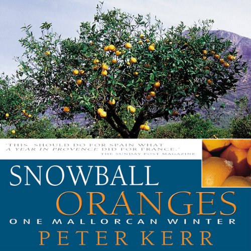 Snowball Oranges audiobook cover art