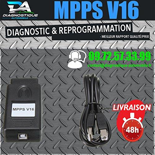 Mister Diagnostic ® Câble/interface MPPS V16 Pro et logiciel MPPS Flash Chip Tuning